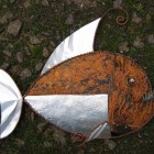 Rust piranha fish