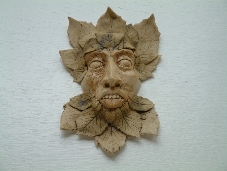 Green man scary