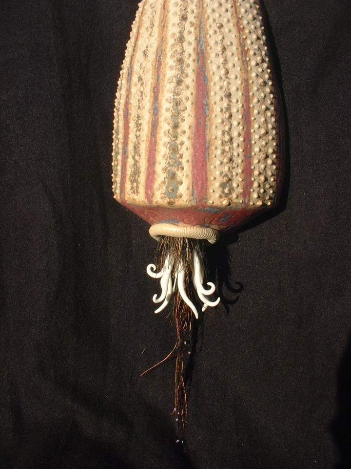 Dot ceramic sea urchin