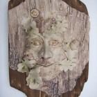 Green man wood