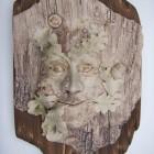 Green man wood