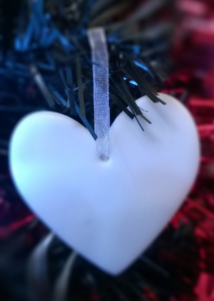 Christmas Decoration Heart shape