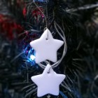 Photo of Handmade Christmas Decoration triple star