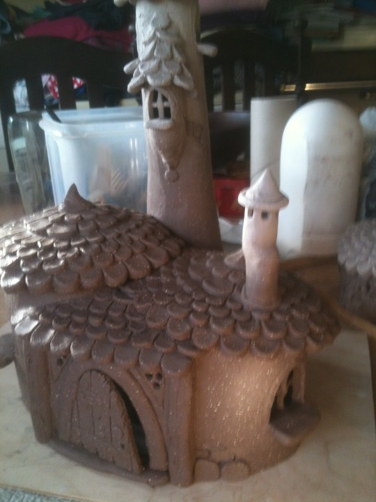 Big fairy house front detail