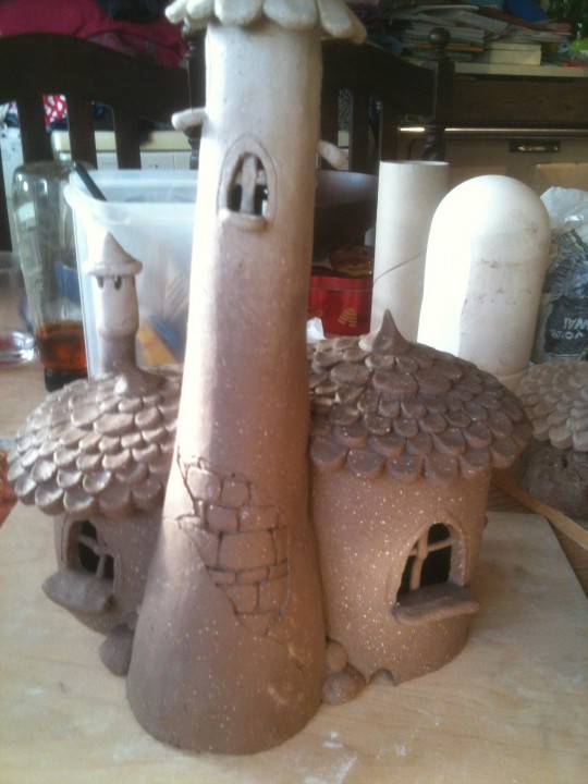 Big fairy house back detail